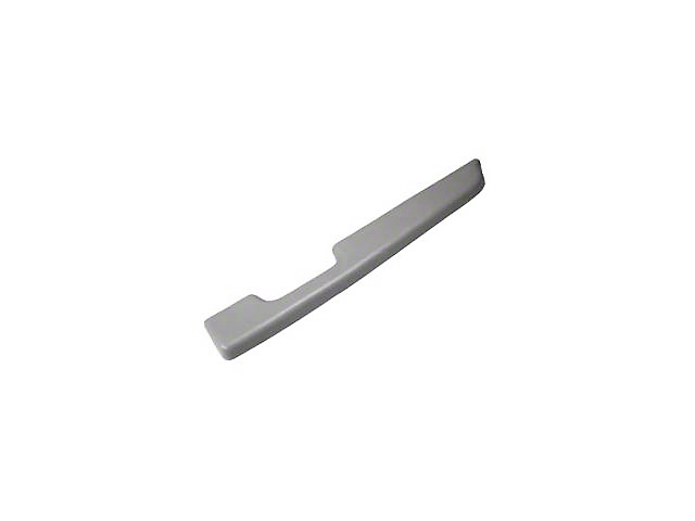 Titanium Gray Door Arm Rest Pad - Right Power Window (90-92 All)