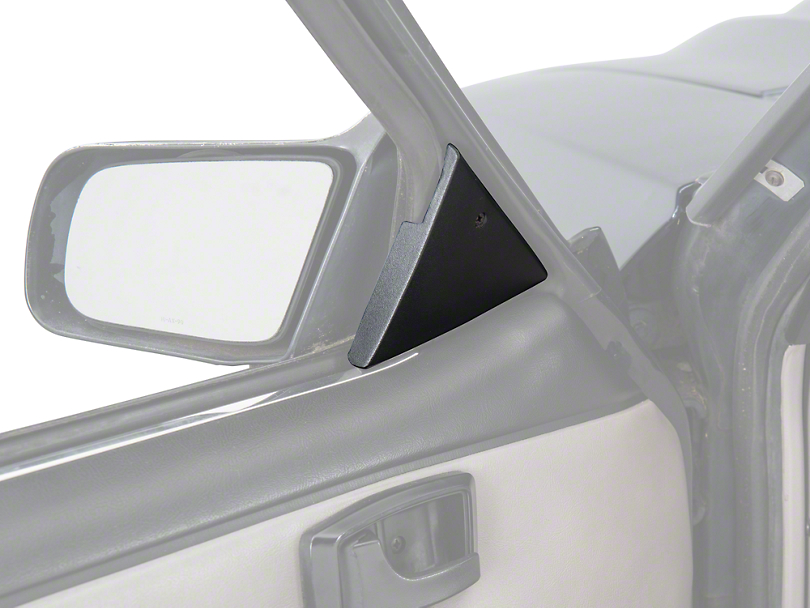 Power Mirror Mount Cover Panels (87-93 All)