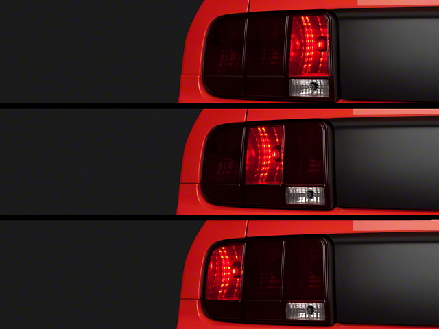 LED Sequential Chase Tail Light Kit - Plug-and-Play (05-09 All)