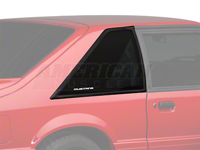 Hatchback Quarter Window - Passenger Side (87-93 All)