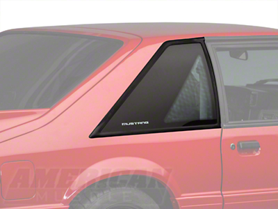 Hatchback Quarter Window Pair - Mustang (87-93 All)
