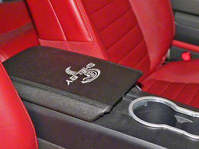 Shelby Armrest Cover - Modern Cobra Logo (05-09 All)