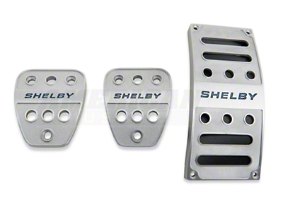 Shelby Pedal Covers - Manual (05-09 All)