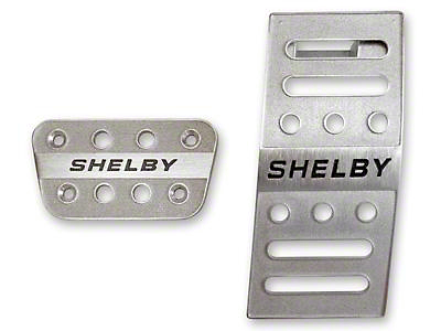 Shelby Pedal Covers - Automatic (05-09 All)
