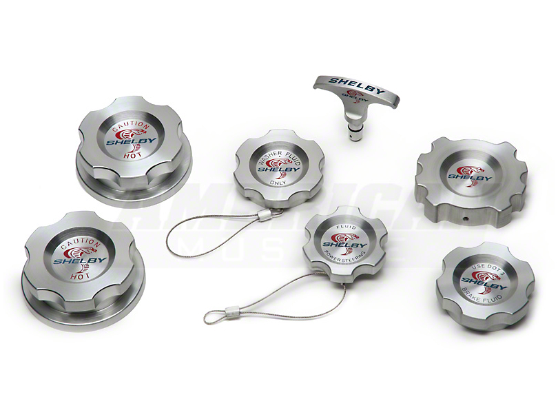 Shelby Engine Cap Kit (07-09 GT500)