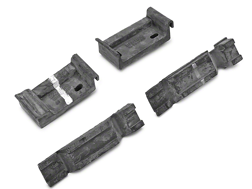 OPR Upper and Lower Radiator Bracket Insulators (79-93 All)