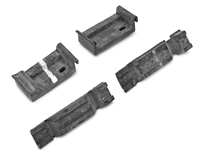 Upper and Lower Radiator Bracket Insulators (79-93 All)