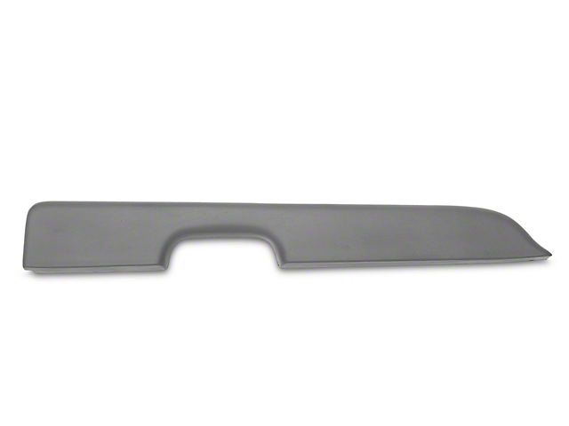 Dark Gray Door Arm Rest Pad - Left Power Window (87-93 All)