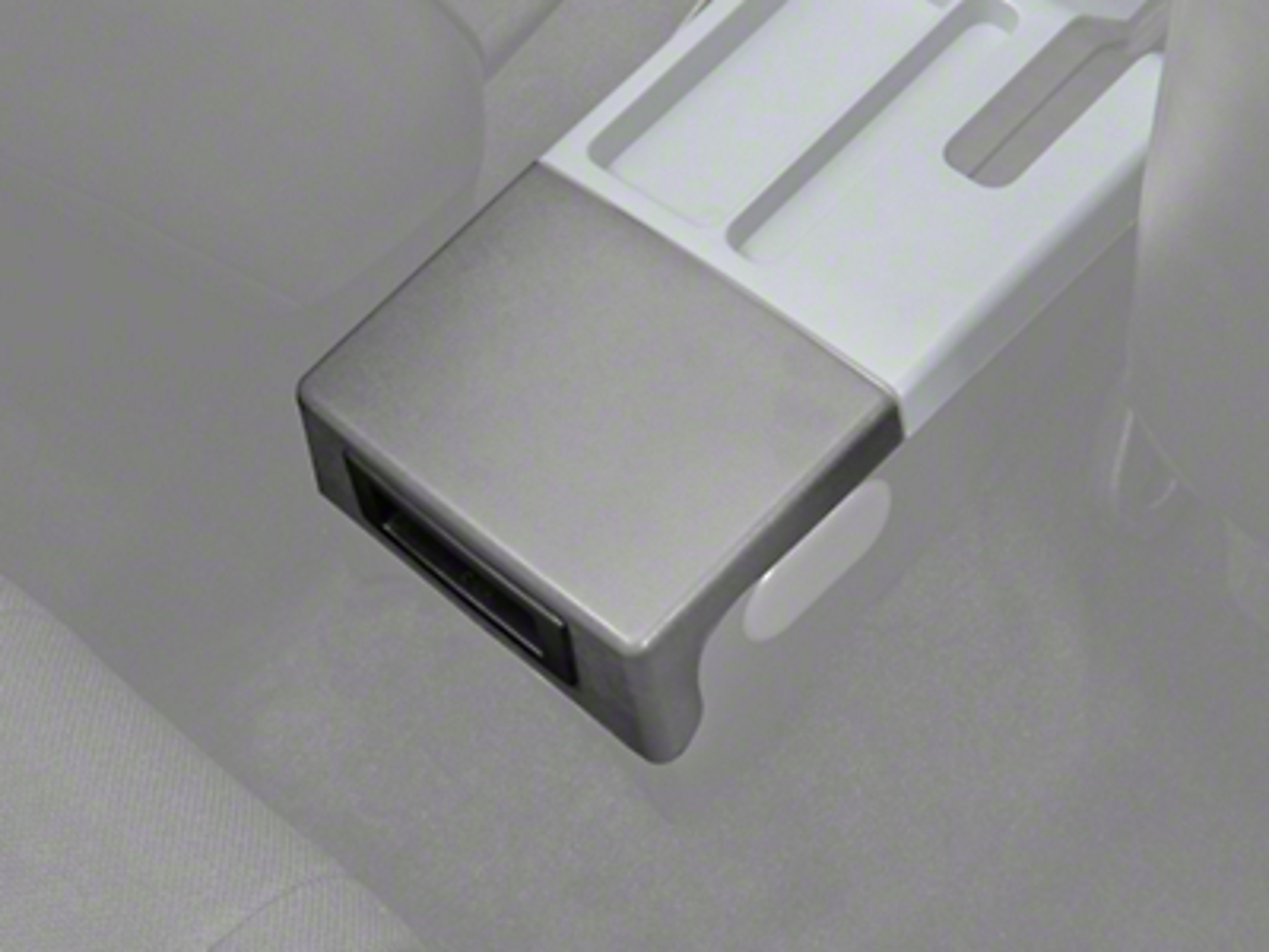 Center Console Arm Rest Delete Plate - Gray (87-93 All)