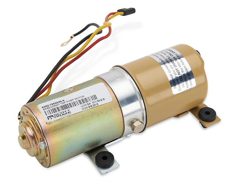 Convertible Top Pump Motor (83-93 All)