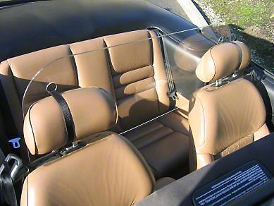 Mustang Acrylic Wind Deflector (79-11)