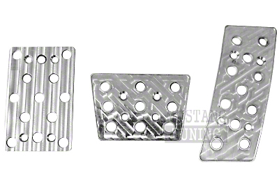 Billet Pedal Kit for Automatic Transmissions (87-04)