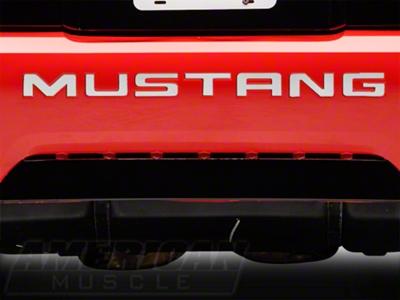 Stainless Steel Bumper Insert Letters (99-04 GT, V6, Mach 1; 99 Cobra)