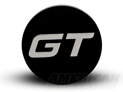 Black GT Center Cap - Large