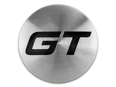 Silver GT Center Cap - Large