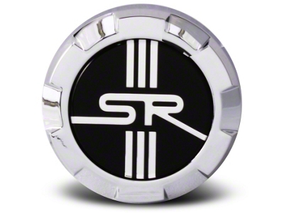 Chrome Raised SR Center Cap - Large