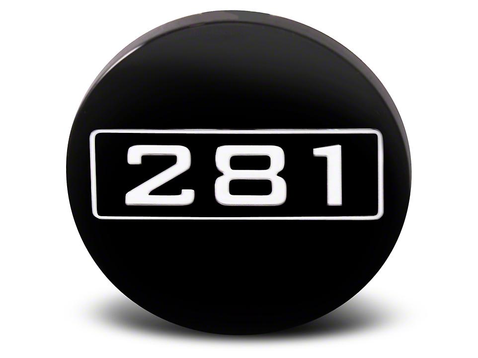 Black 281 Center Cap - Large