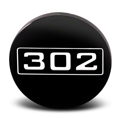 Black 302 Center Cap - Large