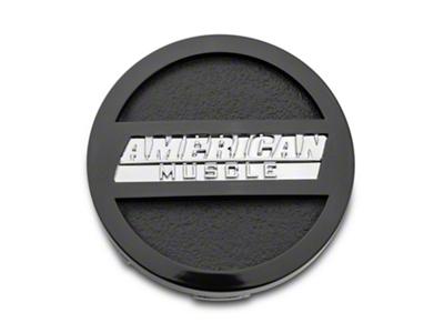 Black American Muscle Center Cap - Large