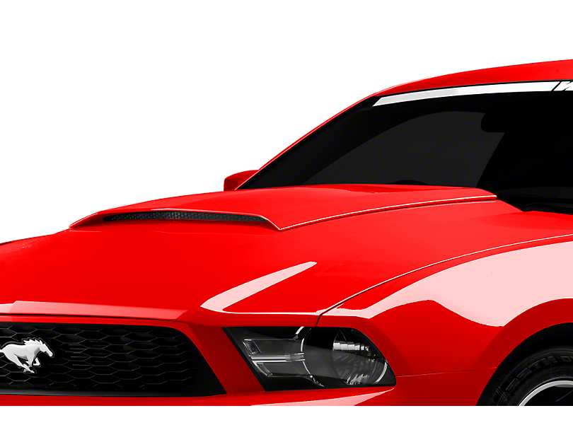 mustang hood scoop pre painted 2010 2012 gt v6 free html. Black Bedroom Furniture Sets. Home Design Ideas