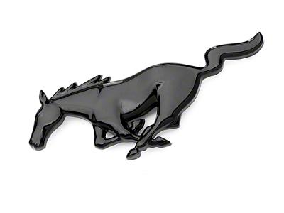Running Pony Grille Emblem - Black (94-04 All)