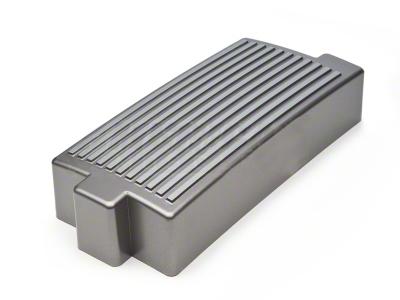 Finned Fuse Box Cover - Titanium Silver (05-09 GT, V6)