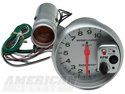 Auto Meter Sport Comp 5in Tachometer w/ Shift Light (79-14 All)