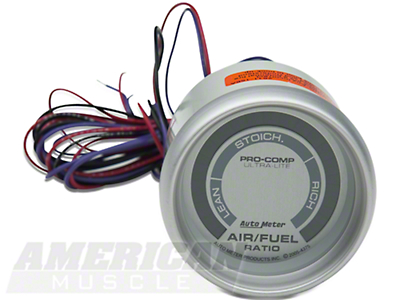 Auto Meter Pro-Comp Ultra-Lite Air/Fuel Ratio Gauge - Electric (79-14 All)