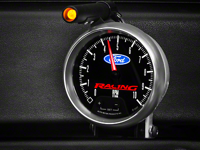 Ford Racing Tachometer w/ Shift Light (79-16 All)