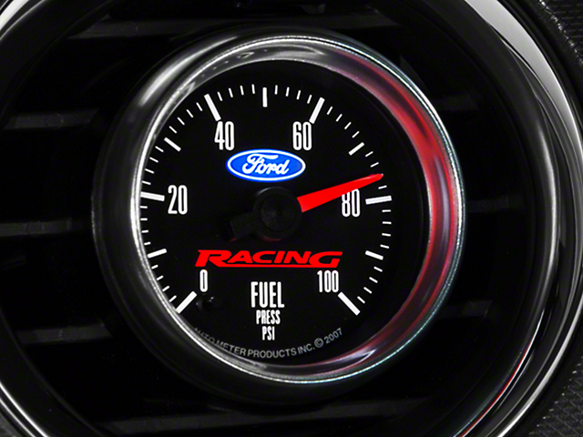 Ford Racing Fuel Pressure Gauge (79-14 All)