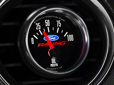 Ford Racing Oil Pressure Gauge (79-14 All)