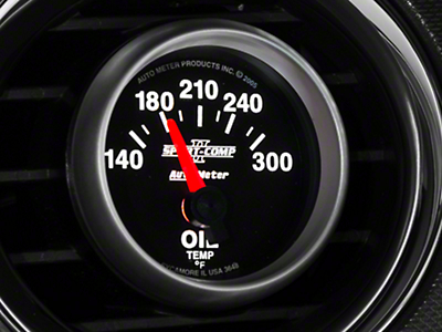 Auto Meter Sport Comp II Oil Temp Gauge - Electric (79-17 All)