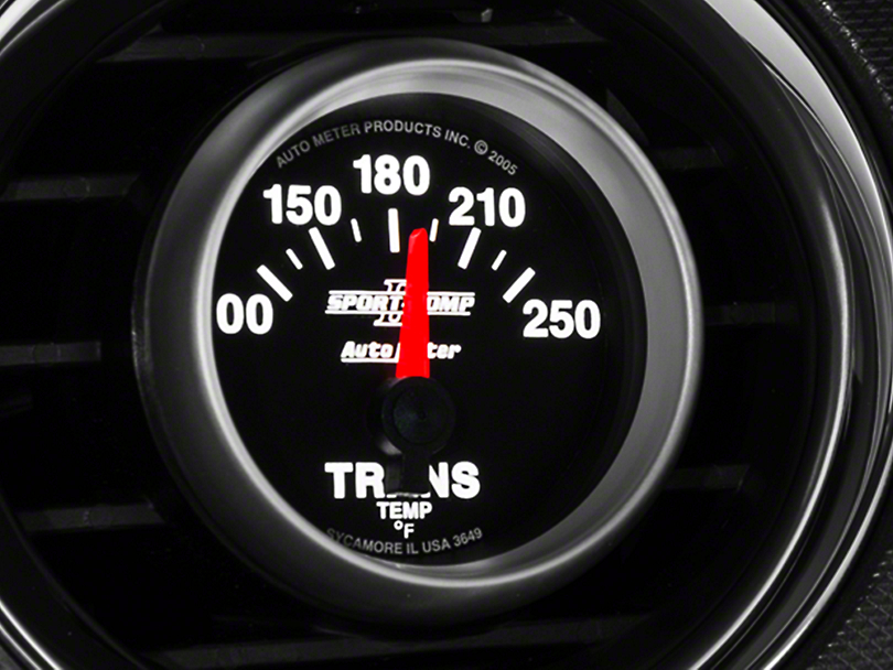 Auto Meter Sport Comp II Transmission Temp Gauge - Electric (79-17 All)