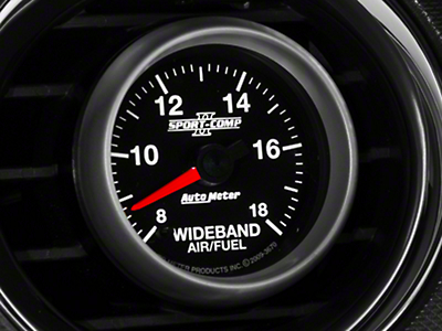 Auto Meter Sport Comp II Wideband Air/Fuel Ratio Gauge - Analog (79-17 All)
