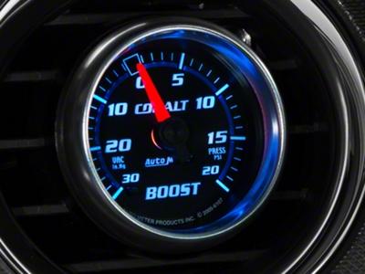 Auto Meter Cobalt Boost/Vac Gauge - 20 psi Mechanical (79-14 All)