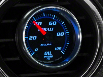 Auto Meter Cobalt Oil Pressure Gauge - Mechanical (79-14 All)