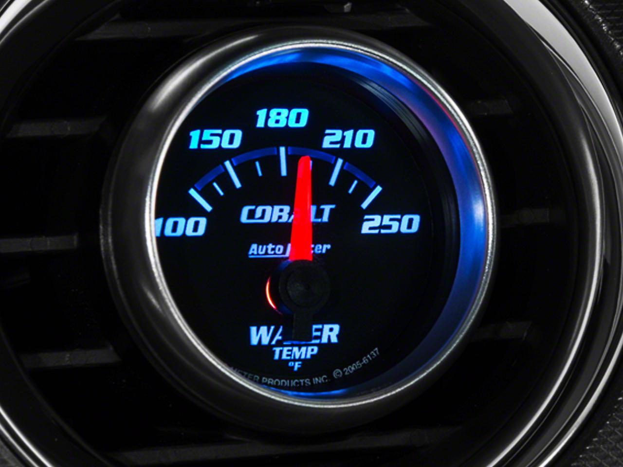 Auto Meter Cobalt Water Temp Gauge - Electric (79-14 All)