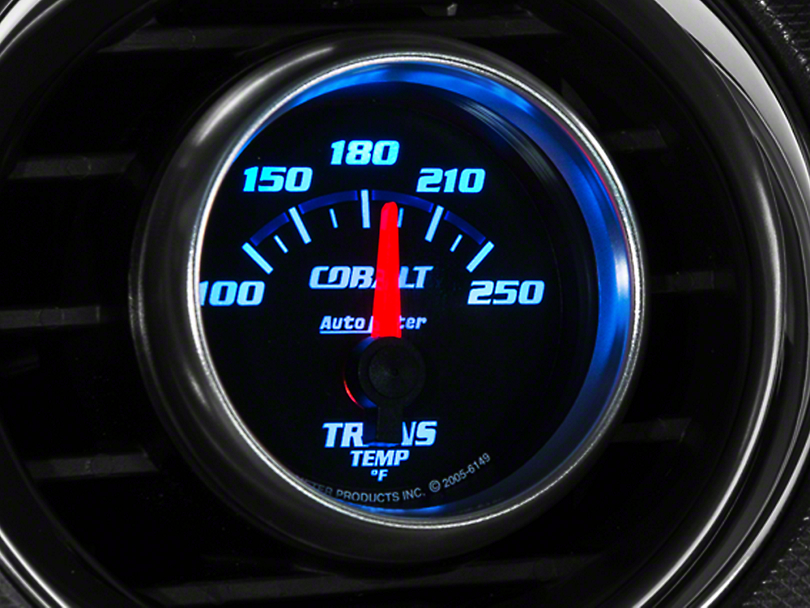 Auto Meter Cobalt Transmission Temp Gauge - Electric (79-14 All)