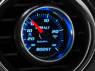 Auto Meter Cobalt Boost/Vac Gauge - 30psi Electric (79-14 All)