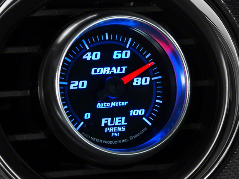 Auto Meter Cobalt Fuel Pressure Gauge - Electric (79-17 All)