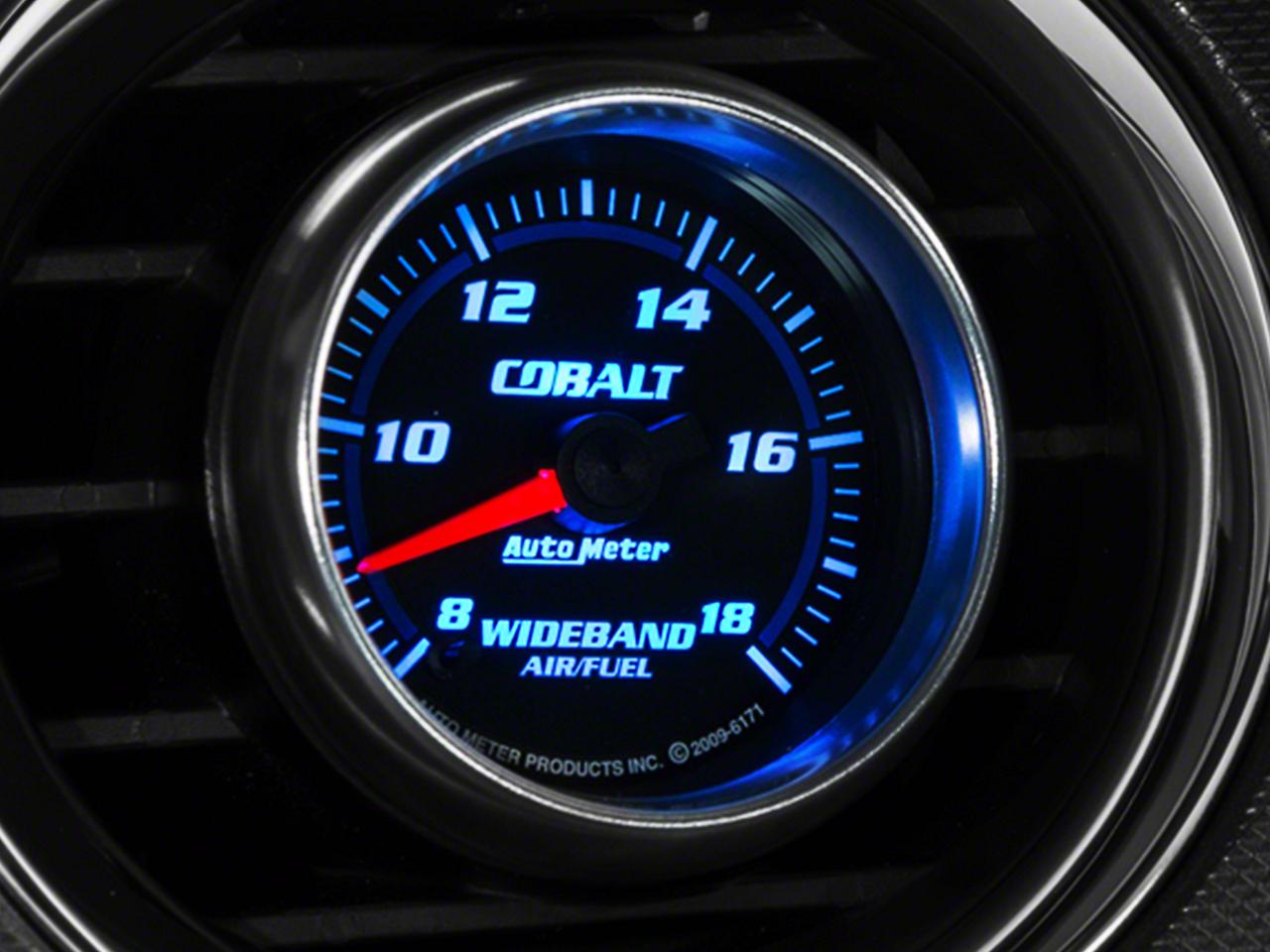 Auto Meter Cobalt Wideband Air/Fuel Ratio Gauge - Analog (79-14 All)