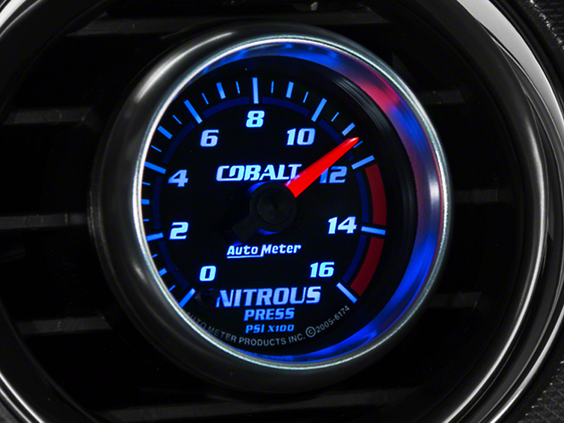Auto Meter Cobalt Nitrous Pressure Gauge - Electric (79-14 All)