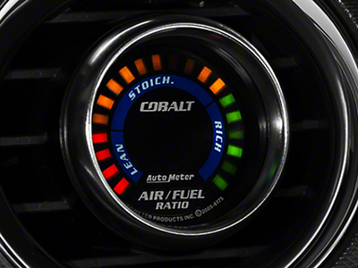 Auto Meter Cobalt Air/Fuel Ratio Gauge - Digital (79-14 All)