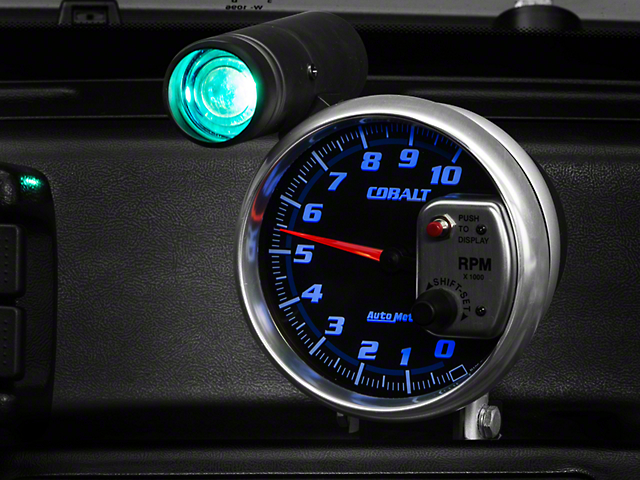 Auto Meter Cobalt 5 in. Tachometer w/ Shift Light (79-14 All)