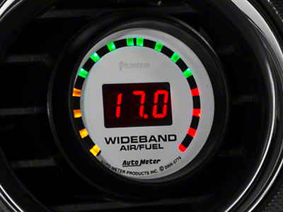Auto Meter Phantom Wideband Air/Fuel Ratio Gauge - Digital (79-17 All)