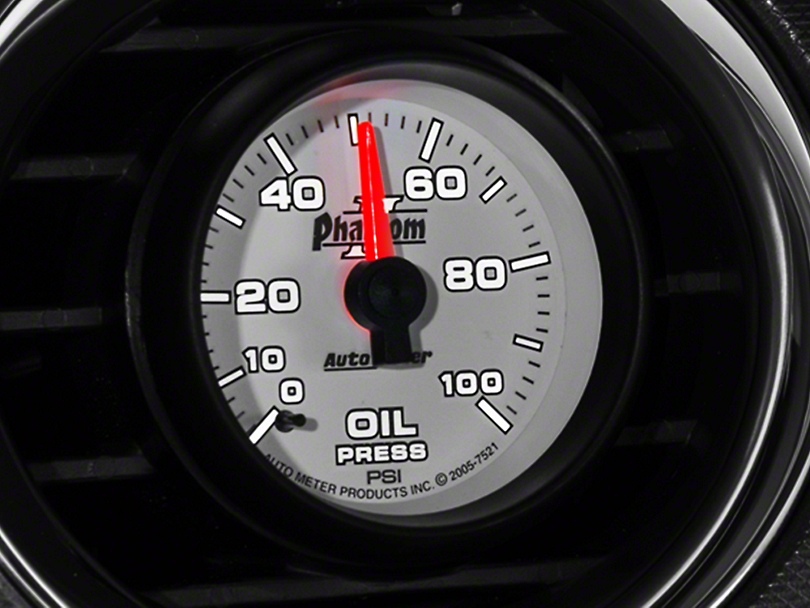 Auto Meter Phantom II Oil Pressure Gauge - Mechanical (79-14 All)
