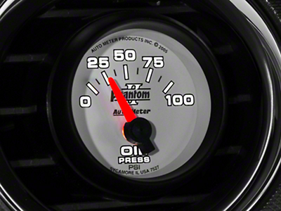 Auto Meter Phantom II Oil Pressure Gauge - Electric (79-14 All)