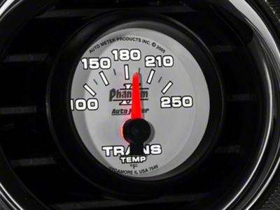 Auto Meter Phantom II Transmission Temp Gauge - Electric (79-14 All)