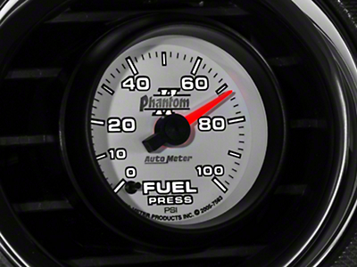 Auto Meter Phantom II Fuel Pressure Gauge - Electric (79-14 All)