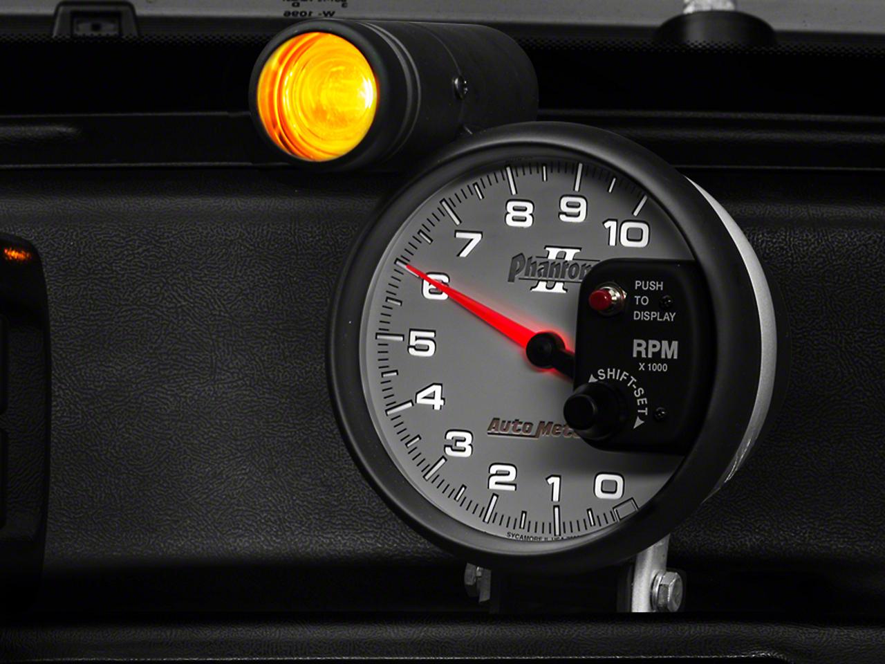 Auto Meter Phantom II 5 in. Tachometer w/ Shift Light (79-17 All)